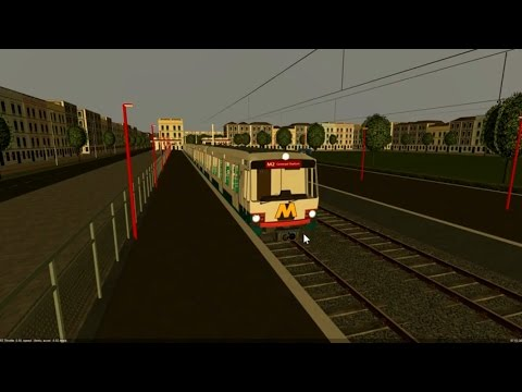 Metro Simulator Beta 3.10 - Rijndam - Line M2 - DOWNLOAD LINK