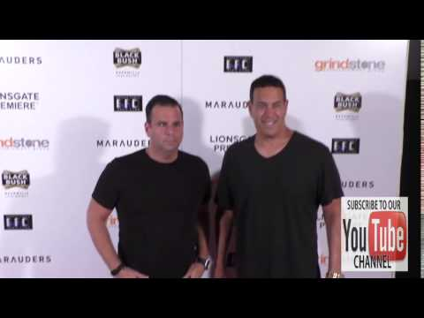 George Furla and Randall Emmett at the Lionsgate Premiere Of Marauders at TLC Chinese 6 Theatre in H