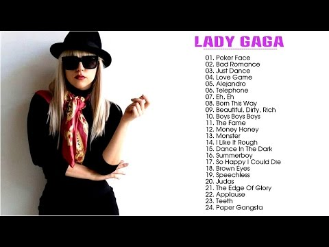 Lady Gaga - Greatest Songs Collection || Lady Gaga Nonstop Hits