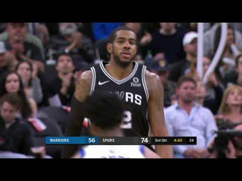 Golden State Warriors vs San Antonio Spurs : November 18, 2018