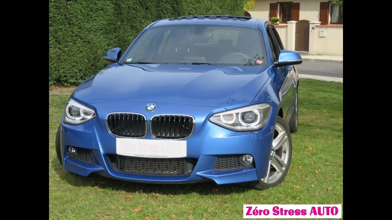 bmw 118i 170 s rie 1 pack m sport design 118 i f20 zero stress auto bordeaux youtube. Black Bedroom Furniture Sets. Home Design Ideas