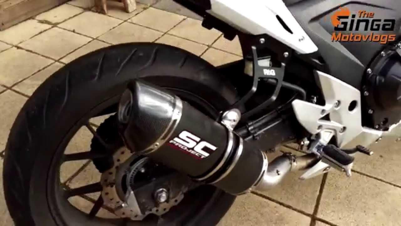 2014 Honda CB500F SC Project Exhaust SHORT