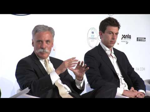 Toto Wolff and Chase Carey talk motor sport and social media