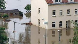 Hochwasser in Pirna Copitz und in der Pinaer Altstadt