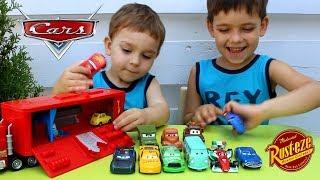 Обзор игрушек Мак трейлер Тачки Cars 3 Travel Time Mack