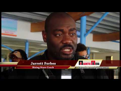 One Caribbean Report Rising Stars 2nd Place Trophy in Puerto Rico Games