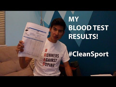 MY BLOOD TEST RESULTS! Training for UTMB '17 VLOG: #CleanSport Rant