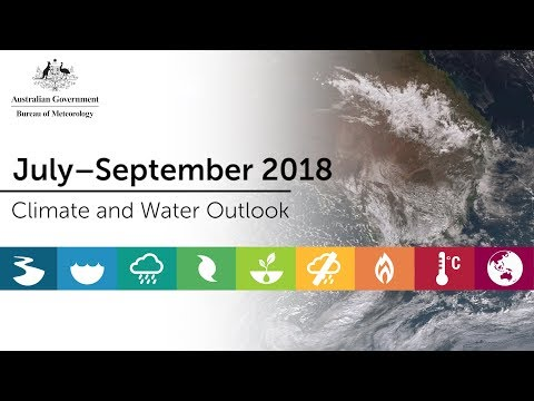 Climate and Water Outlook, July–September 2018