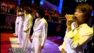 """Cover images SS501 """"Never Again"""" Performance on $h0w  \/ us c T@nk 050827"""
