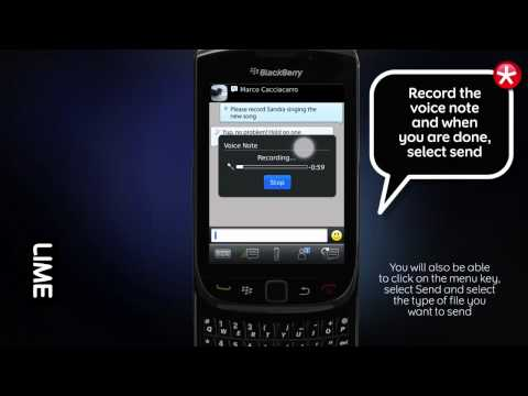 How To Send A Voice Note In BBM