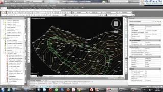 Геоникс  Создание структурных линий, создание модели выемки  Урок 2