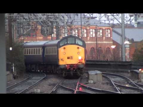 Class 47 Railtours in the North 03rd December 2011