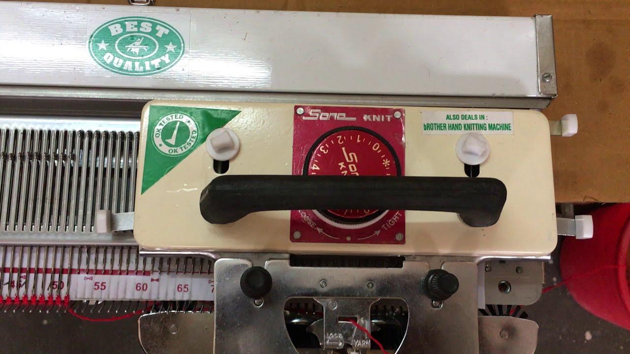 Knitting Machine Video