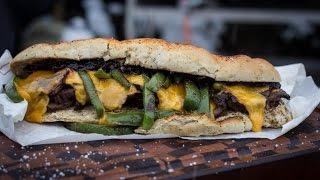 Folge113 - Philly Cheese Steak Sandwich [Deutsches BBQ- und Grill- Rezept]
