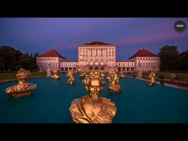 Kunstinstallation König Ludwig im Zeitraffer