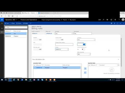 Q&A Series: How Do I Create a Fee Billing Rule in Dynamics 365 for Finance and Operations
