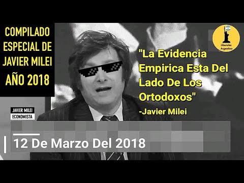 ¡Compilado Especial De Javier Milei Año 2018! ¡EL ECONOMISTA NIVEL DIOS!