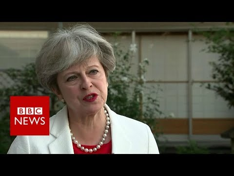 Prime Minister Theresa May on Brexit and Japan - BBC News