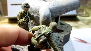 """Building Verlinden Productions """"Taking the Pillbox WWII"""" In 1/35 Scale"""