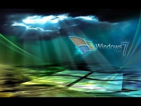 Как запустить анимированные обои в Windows Vista и 7 - YouTube