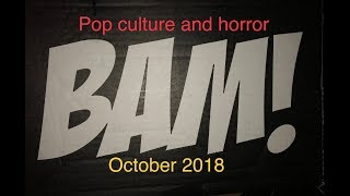 The BAM! Box horror and Pop culture October 2018