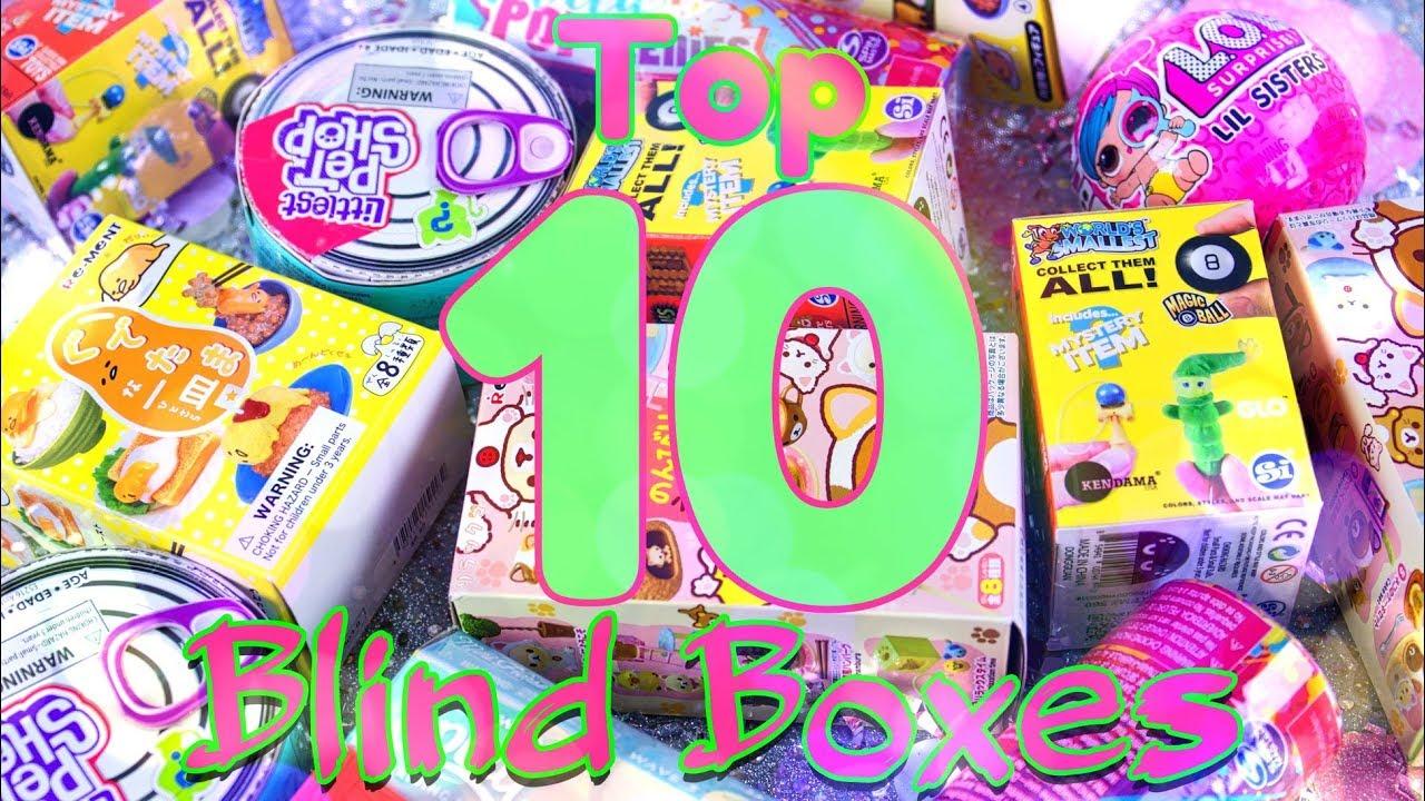Top 10: Best Blind Boxes RANKED - Gudetama | Hairdorables | LOL Surprise & more