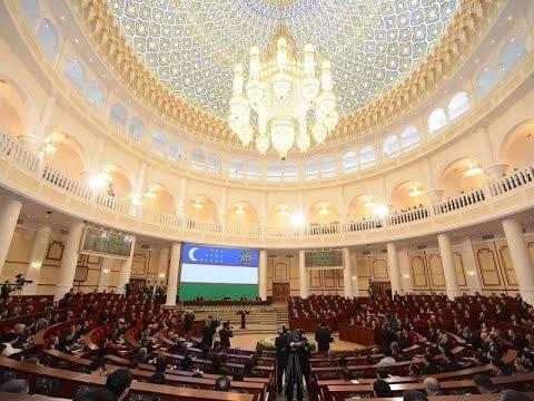 Shavkat Mirziyoyevning O'zbekiston Prezidenti lavozimiga kirishishi tantanali marosimi