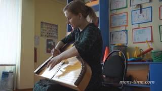 Ольга Глазова  Гусли  Концерт в детском саду