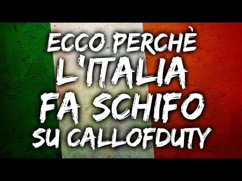 ECCO PERCHÈ L'ITALIA FA SCHIFO SU COD