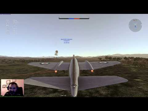 War Thunder : Canberra B Mk. II GamePlay
