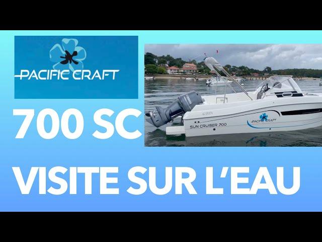 Pacific Craft 700 Sun Cruiser  07 Visite Extérieur  Grand Piquey Cap Ferret