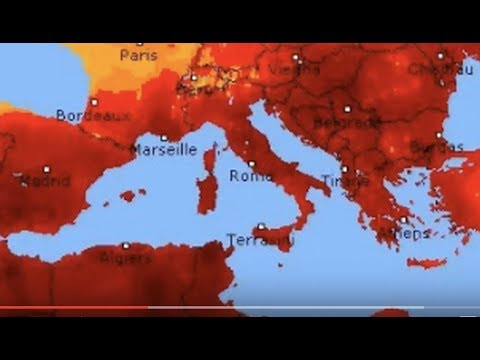 "Breaking News: ""Lucifer"" Heatwave Has Put 11 European Nations In Danger Warnings"" / BPEarthWatch"