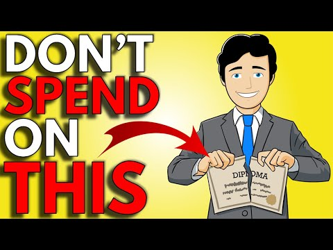 DO NOT Waste Money On THIS | How To Get Rich From Nothing