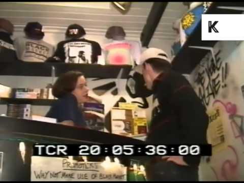 1990s Soho, London, Black Market Records