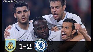 Download Video Burnley FC Vs Chelsea  1  -  2 Premier League 19/04/2018 MP3 3GP MP4