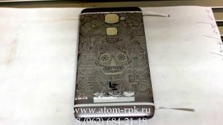 видео Лазерная гравировка на телефонах