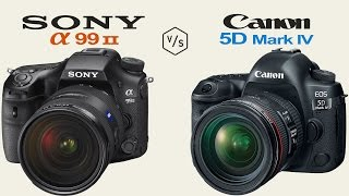 sony a99 ii vs canon eos 5d mark iv