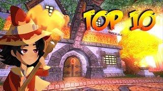 Wizard101: TOP 10 LITTEST FIRE SPELLS
