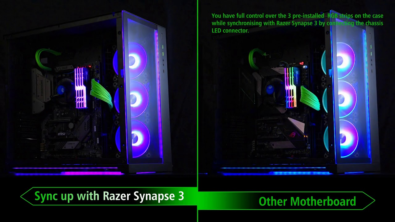 PC-O11 Dynamic Designed by Razer – LIAN LI