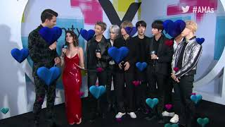 BTS Interview - AMAs Red Carpet 2017