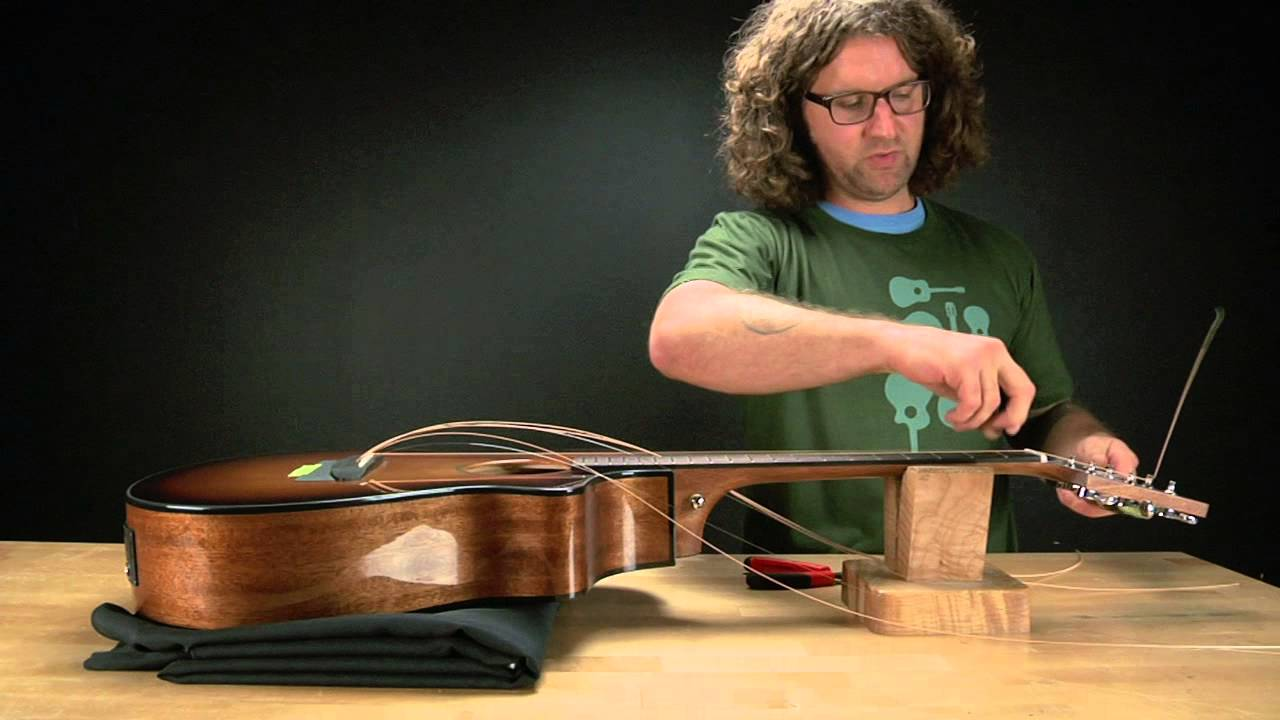 breedlove guitars how to string up a guitar with a pinless bridge youtube. Black Bedroom Furniture Sets. Home Design Ideas