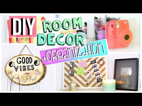 DIY Room Organization + Decor | Room storage ideas | JENerationDIY