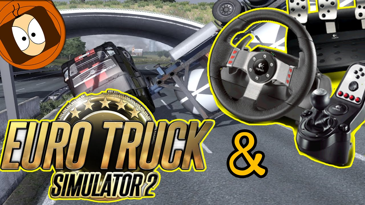 volant g27 euro truck simulator 2 test 100 simulation fr pc youtube. Black Bedroom Furniture Sets. Home Design Ideas