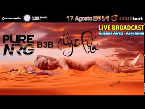 FSOE350   Pure NRG B3B Aly & Fila @ Mandarine Tent, Argentina Full Set 480p