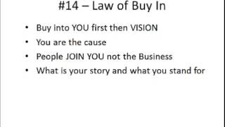 The 21 Irrefutable Laws of Leadership Chapter Summary Part 2