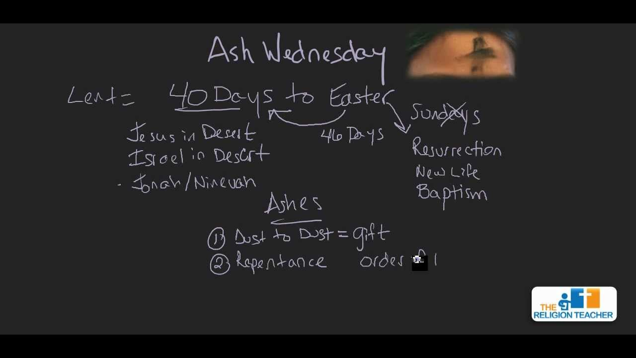 ash wednesday history # 64