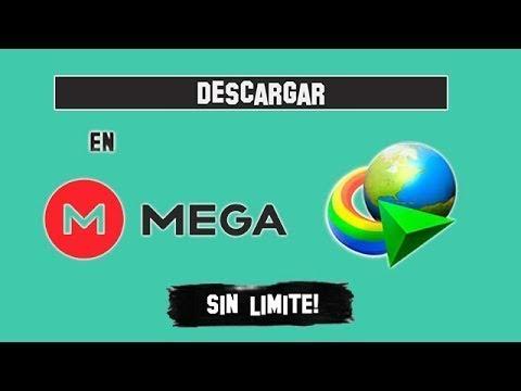 como descargar desde mega con Internet Download Manager