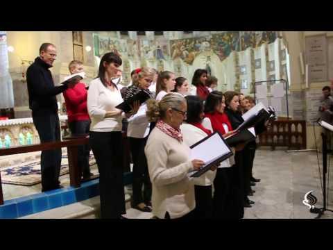 Chants de Noël à La Basilique Notre Dame d'Afrique. Alger