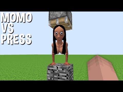 Pertempuran LUAR BIASA MOMO Vs PRESS Di Minecraft! MOMO MINECRAFT!