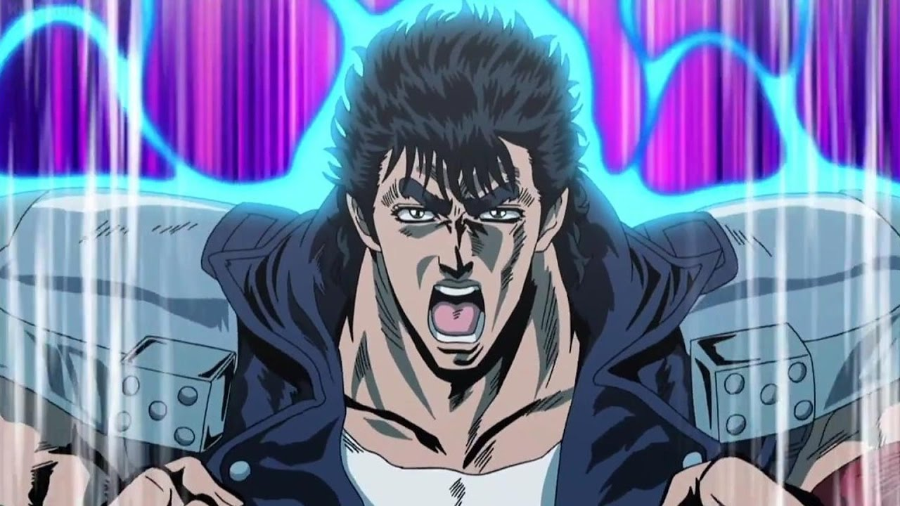 Anime Characters Using Fist : Ah kenshiro manly anime character quot modern fist of the